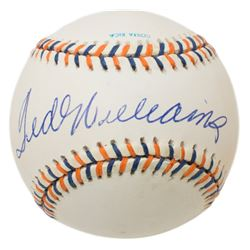 Ted Williams Signed Official 1992 All-Star Game Baseball (Beckett LOA)