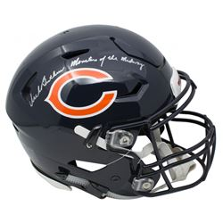 """Dick Butkus Signed Chicago Bears Full-Size Authentic On-Field SpeedFlex Helmet Inscribed """"Monsters o"""