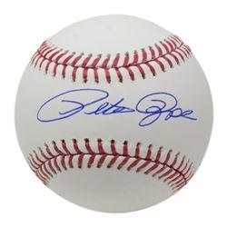 Pete Rose Signed OML Baseball (JSA COA)