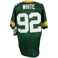 Reggie White Signed Wilson Green Bay Packers Jersey (Beckett LOA)