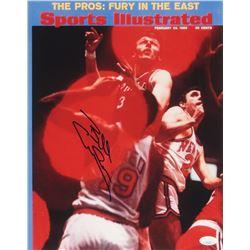 Billy Cunningham Signed Philadelphia 76ers 11x14 Photo (JSA COA)