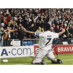 Raul Signed Real Madrid 11x14 Photo (JSA COA)