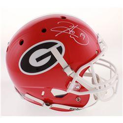 Hines Ward Signed Georgia Bulldogs Full-Size Helmet (Beckett COA)