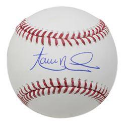Aaron Nola Signed OML Baseball (JSA COA)