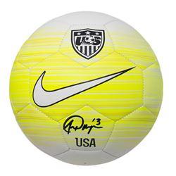 Alex Morgan Signed Team USA Soccer Ball (JSA COA)