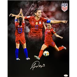 Alex Morgan Signed Team USA Soccer 16x20 Photo (JSA COA)