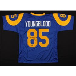 "Jack Youngblood Signed Jersey Inscribed ""HOF 2001"" (Radtke COA)"