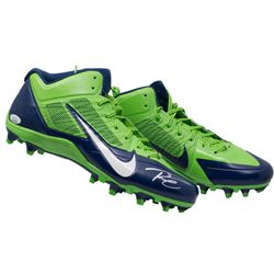 Russell Wilson Signed Pair of (2) Nike Seattle Seahawks Cleats (JSA COA  Wilson Hologram)