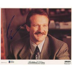 "Robin Williams Signed ""Cadillac Man"" 8x10 Photo (Beckett COA)"