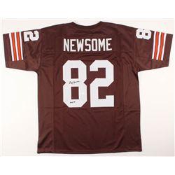 "Ozzie Newsome Signed Jersey Inscribed ""HOF 99"" (JSA COA)"