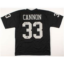 """Billy Cannon Signed Jersey Inscribed """"1967 A.F.L. Champs"""" (Radtke COA)"""
