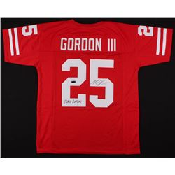"Melvin Gordon Signed Jersey Inscribed ""Flash Gordon"" (Radtke COA)"