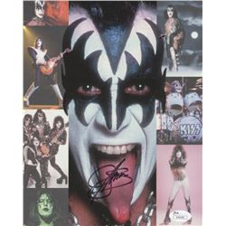 Gene Simmons Signed KISS 8x10 Photo (JSA COA)