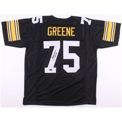 "Joe Greene Signed Jersey Inscribed ""HOF 87"" (Radtke COA)"