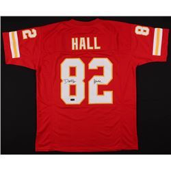 "Dante Hall Signed Jersey Inscribed ""X Factor"" (Radtke COA)"