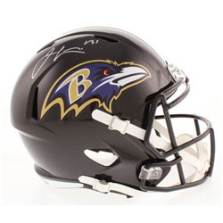 Jamal Lewis Signed Baltimore Ravens Full-Size Speed Helmet (Radtke COA)