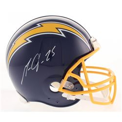 Melvin Gordon Signed Los Angeles Chargers Throwback Full-Size Authentic On-Field Helmet (Radtke COA)