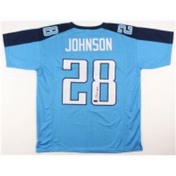 Chris Johnson Signed Jersey (Radtke COA)