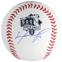 David Ortiz Signed 500 Home Runs Baseball (Fanatics Hologram)