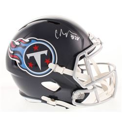 Chris Johnson Signed Tennessee Titans Full-Size Speed Helmet (Radtke COA)