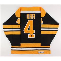 "Bobby Orr Signed LE Boston Bruins Jersey Inscribed ""3x MVP"" (Orr COA  PSA COA)"
