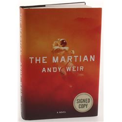 "Matt Damon  Andy Weir Signed ""The Martian"" Hardcover Book (PSA COA)"