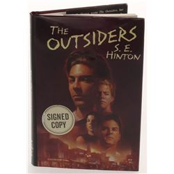 "S. E. Hinton Signed ""The Outsiders"" Hardcover Book Inscribed ""Stay Gold"" (PSA COA)"