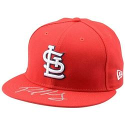 Paul Goldschmidt Signed St. Louis Cardinals Hat (Fanatics Hologram)