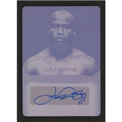 2019 Leaf Ultimate Sports Signatures Printing Plates Magenta #USFM1 Floyd Mayweather Jr.