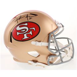 Frank Gore Signed San Francisco 49ers Full-Size Speed Helmet (JSA COA)