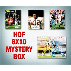 Schwartz Sports Football Hall of Famers Signed Mystery Box 8x10 Photo Series 6 (Limited to 100) - **