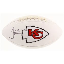 Tyreek Hill Signed Kansas City Chiefs Logo Football (JSA COA)