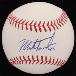Mark Trumbo Signed OML Baseball (MLB Hologram)