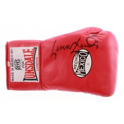 Lennox Lewis Signed Everlast Boxing Glove (JSA Hologram)