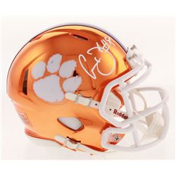 Clelin Ferrell Signed Clemson Tigers Chrome Speed Mini Helmet (Radtke COA)
