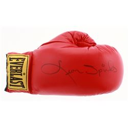 Leon Spinks Signed Everlast Boxing Glove (JSA COA)