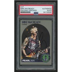 Mike McCready Signed Pearl Jam Trading Card (PSA Encapsulated)