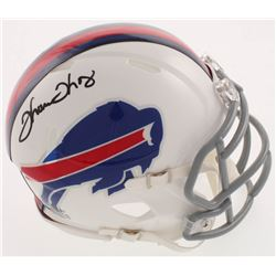 Thurman Thomas Signed Buffalo Bills Speed Mini Helmet (Radtke COA)