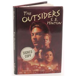 """S. E. Hinton Signed """"The Outsiders"""" Hardcover Book Inscribed """"Stay Gold"""" (PSA COA)"""