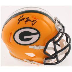 Brett Favre Signed Green Bay Packers Speed Mini Helmet (Radtke COA)