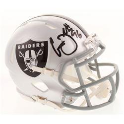 Clelin Ferrell Signed Oakland Raiders Speed Mini Helmet (Radtke COA)