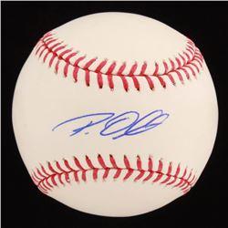 Roy Oswalt Signed OML Baseball (Radtke Hologram)