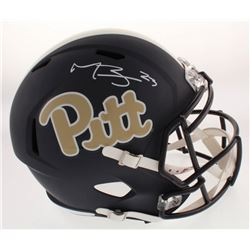 Tyler Boyd Signed Pittsburgh Panthers Full-Size Speed Helmet (Radtke COA)