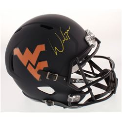 Will Grier Signed West Virginia Mountaineers Full-Size Speed Helmet (Radtke COA)