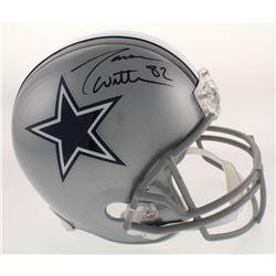 Jason Witten Signed Dallas Cowboys Full-Size Helmet (Radtke COA)