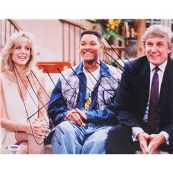 "Donald Trump Signed ""The Fresh Prince of Bel-Air"" 11x14 Photo (PSA LOA)"