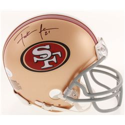 Frank Gore Signed San Francisco 49ers Mini-Helmet (JSA COA)