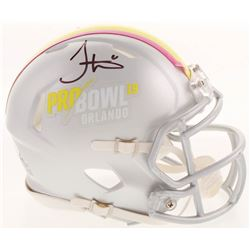 Tyreek Hill Signed 2019 Pro Bowl Speed Mini Helmet (JSA COA)