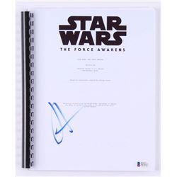 "J.J. Abrams Signed ""Star Wars: The Force Awakens"" Movie Script (Beckett COA)"