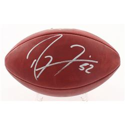 """Ray Lewis Signed """"The Duke"""" Official NFL Game Ball (PSA Hologram)"""